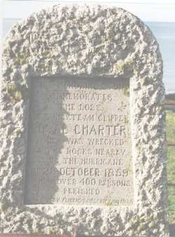 Royal Charter Monument at Moelfre